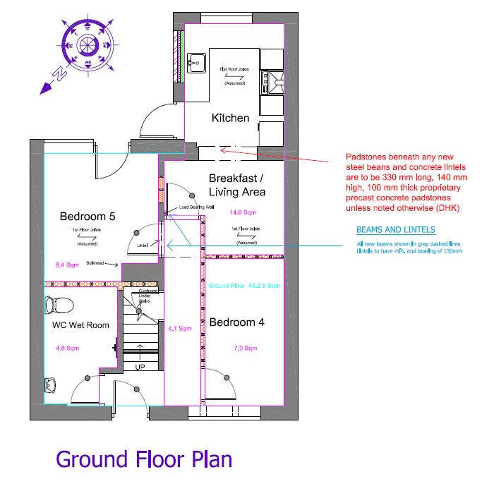 Existing And Proposed Plans Ground Floor